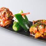 KollaBo - (前菜) 韓国料理・焼肉 14名店の 激ウマ 前菜