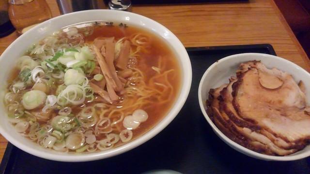 大勝軒 淵野辺店 - チャーシューめん(ふつう) 990円