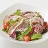 イタリア料理 クッチーナ - 料理写真:生ハムと彩り野菜のサラダ 大塚ふぁーむキャロットドレッシング
