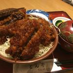 とん亭 - 同僚の八重うまっソースかつ丼@1,380円