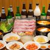 辰家 - 料理写真:辰家(ヂンガ)コース(サムギョプサルがメインの全9品)