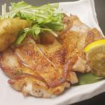 嘉祥 - 薩摩錦鶏 ももの炙り焼き