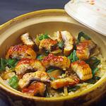 嘉祥 - 鰻とわさび菜の土鍋ご飯