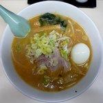 札幌ラーメン 熊吉 - 味噌ラーメンのアップ