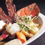 テイストシックス - 土の中のサラダ♪ 面白いネーミングでしょ!?野菜自身をしっかり味わえます☆
