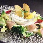 テイストシックス - TASTE-6定番のベジタブルメニュー☆ お野菜のいろんな食べ方を提案!おいしく 楽しく お召し上がれ♪