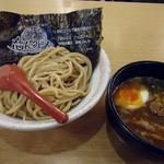 おとど食堂 - 「とみ田コラボつけ麺」850円也。税込。