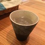 まめなカフェ - 大豆焼酎・小糸在来580円