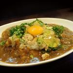 カレー専門店 大文字 - 鶏そぼろカレー