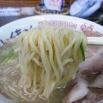 56694760 - 中太ストレートの麺
