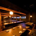 完全個室居酒屋 TOTORIKO - 最大100名程度までOK!掘りごたつ個室全利用OK