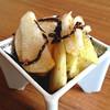 白菜と長芋の浅漬け 子持ち柚子昆布和え