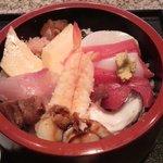 花寿司 - ちらし鮨アップ
