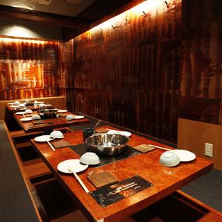 【ご宴会】プライベート感◎な個室空間。最大30名様迄