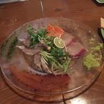 56701754 - 魚介の炭火タタキカルパッチョ