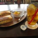 フルール - 卵サンドモーニング 700円 (2016.9)