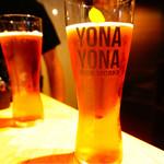 YONA YONA BEER WORKS - ウエルカムドリンクのよなよなエール