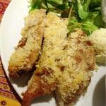 グルトンヌ - チキンのチーズパン粉焼き