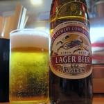 居酒屋 十番 - ビール大瓶¥550
