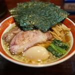 麺処 懐や - 料理写真:特しょうゆ(平打ち)