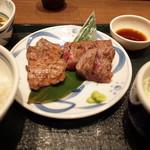 ねぎし - ねぎし&和風ステーキセット