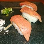 神戸びいどろ - 肉寿司♥(°▽°)ウッシッシ
