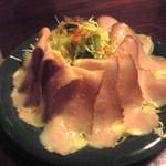 豚肉食堂&喫茶 mojo smokin' - 手造りハムのハムサラダ