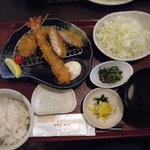 鎌倉かつ亭 あら珠 - 小次郎定食