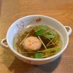 ダイ二ング いけがみ - スープ
