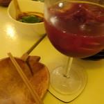 珊瑚ダイニング オフショア - 赤ワイン梅酒