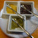 Tenzan - 3種の「お塩」。