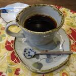 四季の蔵 食楽亭 - セットのコーヒー。