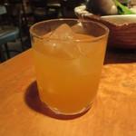波平キッチン - 雨後の月の濁り梅酒500円(税込)