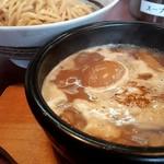 つけ麺 うまづら - 味玉入つけ麺(880円)