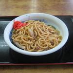 山田うどん - 料理写真:「牛肉パワフル焼きうどん」です。