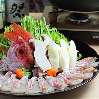 長崎県対馬産のどぐろ料理
