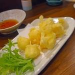 菜々魚々~ちょっとお肉~ - 魔法の天ぷら 700円