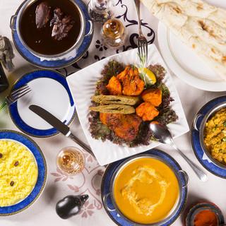 本場インド料理にこだわり30年。