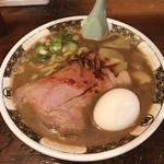 すごい煮干ラーメン凪 - ローストポーク煮干ラーメン