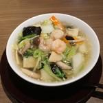 謝朋殿 - 特注海老スープ麺1,728円
