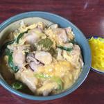 鶏泉 - 親子丼¥530円税込み