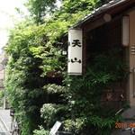 Tenzan - 木がもっさもさだね。