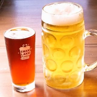 最大18種類の樽生ビール!