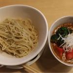 56735791 - ◉2016/09/09/FRI #194 @トマトカレーつけ麺 ¥780