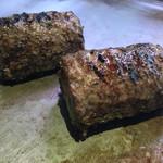 厚切りステーキたわらや - たわらハンバーグ 180g 男性なら1個半くらいは軽く食べられそうです。