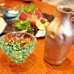 難波 炭焼笑店 陽 - 冷酒(遊穂)