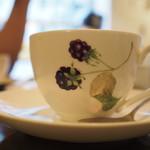 Cafeきょうぶんかん - カップが素敵