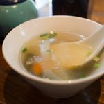 びるまの竪琴 - スープ