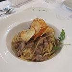 リストランテ モン - 豚肉塩味のパスタ
