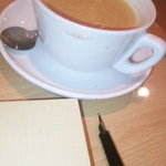 千石Cafe - チャイ風ロイヤルミルクティー。スパイスなのにまろやかでした。500円